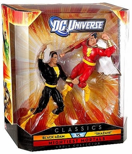 DC Universe Classics Exclusive Mightiest Mortals Figure 2-Pack Black Adam & Shazam