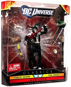 DC Universe Classics Exclusive Mad Love Figure 2-Pack Harley Quinn & The Joker