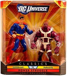 DC Universe Classics Exclusive Power Struggle Action Figure 2-Pack Superman & Parasite