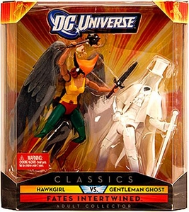DC Universe Classics Exclusive Fates Intertwined Figure 2-Pack Hawkgirl & Gentleman Ghost