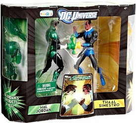DC Universe Classics Exclusive Green Lantern Action Figure 2-Pack Hal Jordan Vs. Thaal Sinestro