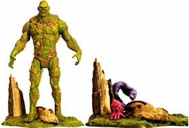 Mattel DC Universe 2011 SDCC San Diego Comic Con Exclusive Action Figure Swamp Thing [INCLUDING Un-Men Ophidian & Cranius]