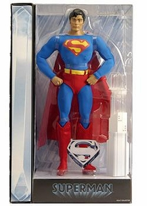 Mattel DC Universe 2010 Movie Masters Exclusive 12 Inch Deluxe Action Figure Christopher Reeves as Superman