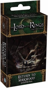 Lord of the Rings Fantasy Flight Living Card Game Return to Mirkwood Adventure Pack