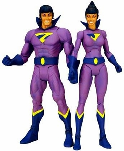 DC Universe Classics 2009 SDCC San Diego Comic Con Exclusive Action Figure 2-Pack Wonder Twins [NO Gleek!]