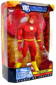 Mattel DC Universe 2009 SDCC San Diego Comic-Con Exclusive 12 Inch Action Figure Giants of Justice The Flash