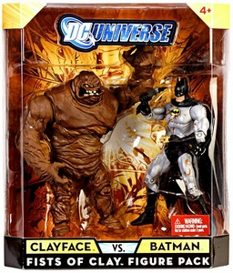 DC Universe Classics Exclusive Fists of Clay Action Figure 2-Pack Clayface & Batman