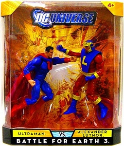 DC Universe Classics Exclusive Battle for Earth 3 Action Figure 2-Pack Ultraman & Alexander Luthor