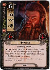 Lord of the Rings: The Card Game [LCG] Core Set Single Card Rare #31 Beorn