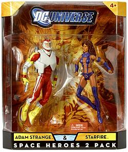 DC Universe Classics Exclusive Space Heroes Action Figure 2-Pack Adam Strange & Starfire