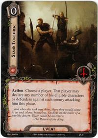 Lord of the Rings: The Card Game [LCG] Core Set Single Card Rare #38 Stand Together