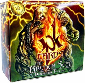 PK Cards Trading Card Game The Broken Seal Booster Box [30 Packs]
