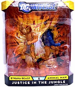 DC Universe Classics Exclusive Justice In The Jungle Action Figure 2-Pack B'Wana Beast & Animal Man