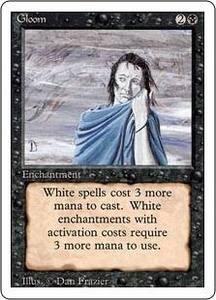 Magic the Gathering Revised Edition Single Card Uncommon Gloom