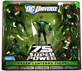 DC Universe Classics Exclusive Action Figure 5-Pack Green Lantern's Light [Tomar Re, Sinestro, Hal Jordan, John Stewart & Guy Gardner]