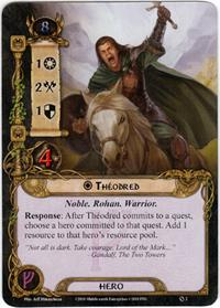 Lord of the Rings: The Card Game [LCG] Core Set Single Card Rare #2 Theodred