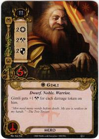Lord of the Rings: The Card Game [LCG] Core Set Single Card Rare #4 Gimli