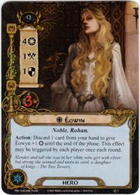 Lord of the Rings: The Card Game [LCG] Core Set Single Card Rare #7 Eowyn