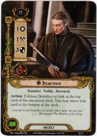 Lord of the Rings: The Card Game [LCG] Core Set Single Card Rare #10 Denethor