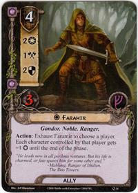 Lord of the Rings: The Card Game [LCG] Core Set Single Card Uncommon #14 Faramir