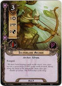 Lord of the Rings: The Card Game [LCG] Core Set Single Card Uncommon #17 Silverlode Archer