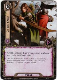 Lord of the Rings: The Card Game [LCG] Core Set Single Card Uncommon #21 Common Cause