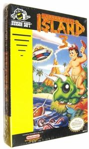 Nintendo Entertainment System NES Factory Sealed Cartridge Game Adventure Island 3 MEGA RARE!