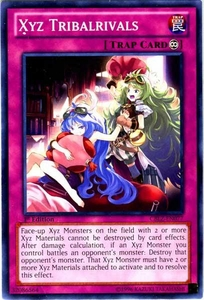 YuGiOh Zexal Cosmo Blazer Single Card Common CBLZ-EN077 Xyz Tribalrivals