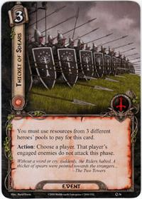Lord of the Rings: The Card Game [LCG] Core Set Single Card Uncommon #36 Thicket of Spears