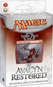 Magic the Gathering Avacyn Restored Theme Deck Intro Pack Fiery Dawn