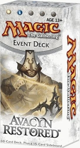 Magic the Gathering Avacyn Restored Event Deck Humanity's Vengeance