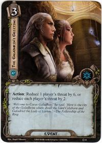 Lord of the Rings: The Card Game [LCG] Core Set Single Card Uncommon #46 The Galadhrim's Greeting