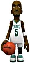 MINDstyle NBA 4 Inch Series 1 Action Figure Kevin Garnett [White Uniform]