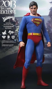 Superman III Hot Toys Movie Masterpiece Exclusive 1/6 Scale Collectible Figure Evil Superman [Christopher Reeves]