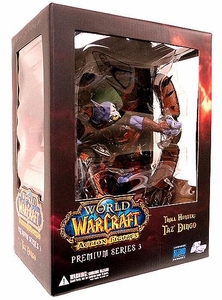 World of Warcraft Premium Series 3 Action Figure Taz'Dingo [Troll Hunter]