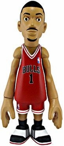 MINDstyle NBA 4 Inch Series 1 Action Figure Derrick Rose [Red Uniform]