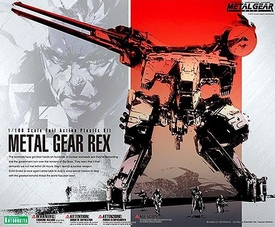 Metal Gear Solid Kotobukiya 1/100 Scale Plastic Model Kit Metal Gear Rex