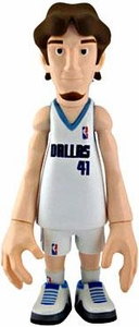 MINDstyle NBA 4 Inch Series 1 Action Figure Dirk Nowitzki [White Uniform]