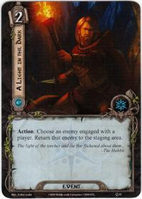 Lord of the Rings: The Card Game [LCG] Core Set Single Card Uncommon #52 A Light in the Dark