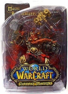 World of Warcraft DC Unlimited Series 6 Action Figure Magni Bronzebeard [Dwarven King]