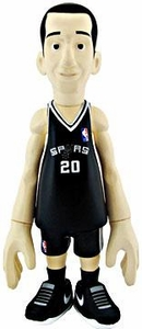 MINDstyle NBA 4 Inch Series 1 Action Figure Manu Ginobili [Black Uniform]