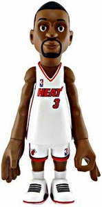 MINDstyle NBA 4 Inch Series 1 Action Figure Dwyane Wade [White Uniform]