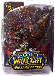 World of Warcraft DC Unlimited Series 6 Action Figure Gibzz Sparklighter [Goblin Tinker]