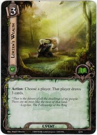 Lord of the Rings: The Card Game [LCG] Core Set Single Card Uncommon #64 Lorien's Wealth