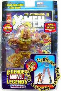 Marvel Legends Exclusive Action Figure Age of Apocalypse Sabretooth [Giant Man Builder Piece] Hot! BLOWOUT SALE!