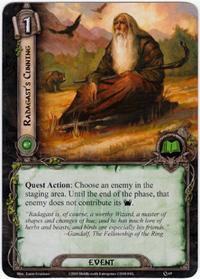 Lord of the Rings: The Card Game [LCG] Core Set Single Card Uncommon #65 Radagast's Cunning