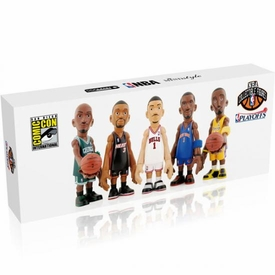 MINDstyle NBA 4 Inch SDCC 2011 San Diego Comic-Con Exclusive 5-Pack Derrick Rose, Kobe Bryant, Dwyane Wade, Kevin Garnett & Amare Stoudemire