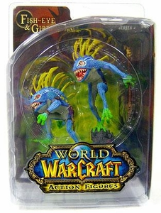 World of Warcraft DC Unlimited Series 4 Action Figure Murloc 2-Pack Fish-Eye & Gibbergil [Both Blue Variant]