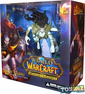 World of Warcraft DC Unlimited Series 4 Deluxe Boxed Action Figure Lady Vashj