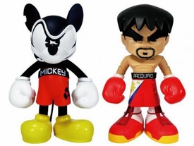 MINDstyle Limited Edition 8 Inch Promoters of Peace Set of 2 Collectible Figures Mad Mickey & Manny Pacquiao